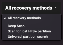 recovery methods macos