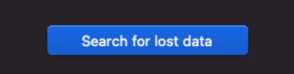 search for lost data option macos disk drill