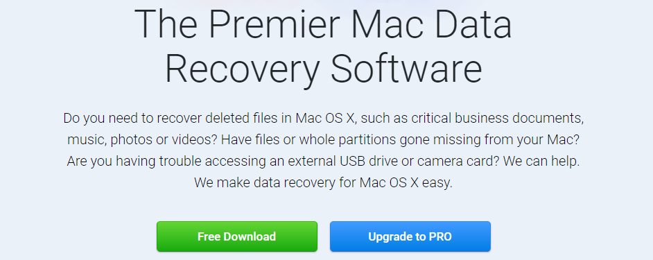disk drill mac data recovery software